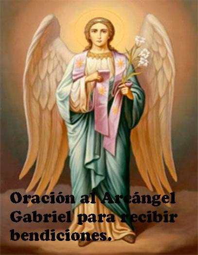 Oración-al-Arcángel-Gabriel-para-recibir-bendiciones